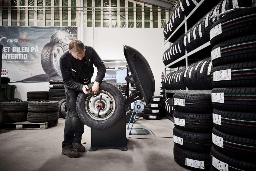 Ole Olesen Sydjysk Dækservice Dækcenter Sydjysk Lastvognsservice