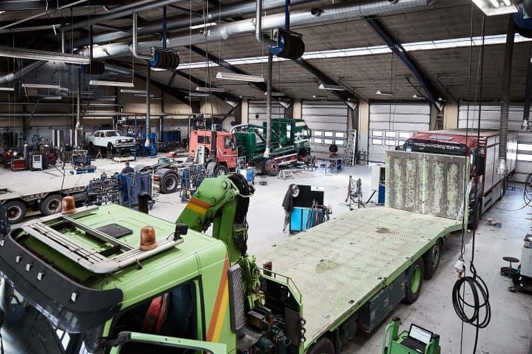 Serviceydelser Autoriseret værksted Sydjysk Lastvognsservice Reparation Service Syn