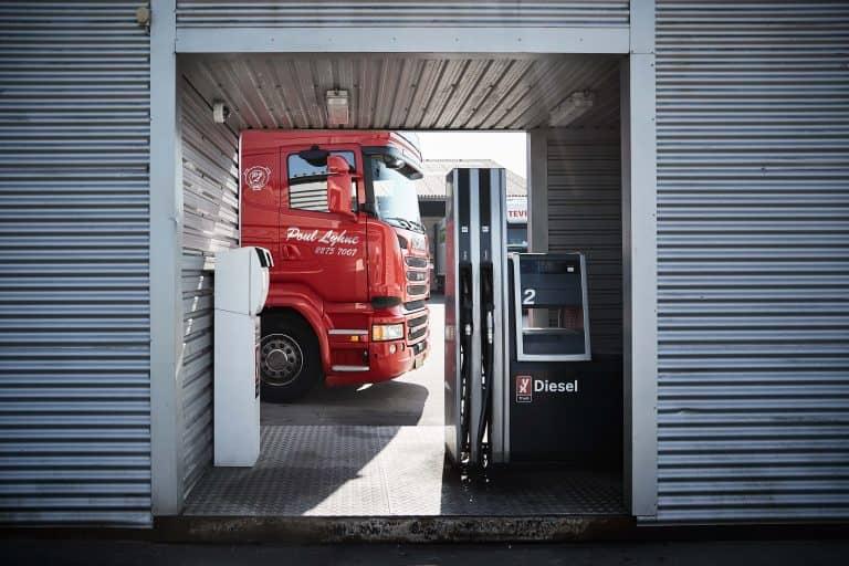 Eget tankanlæg Sydjysk Lastvognsservice