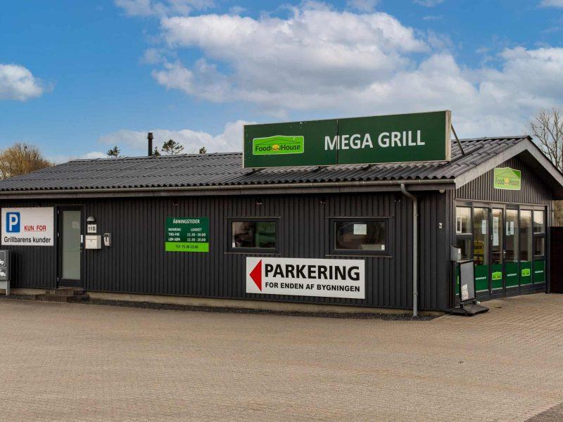Mega Grill Sydjysk Lastvognsservice Grillbar