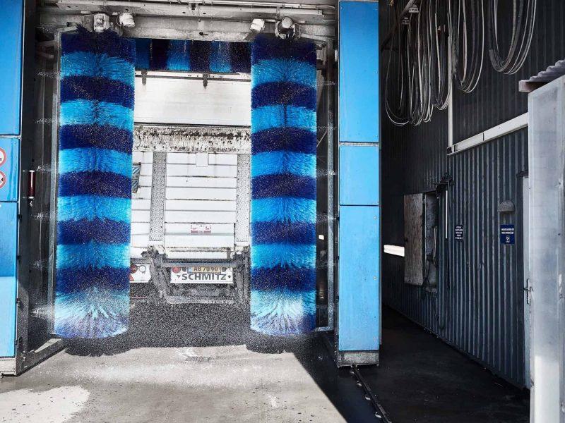 Serviceydelser Drive-in vaskehal Sydjysk Lastvognsservice